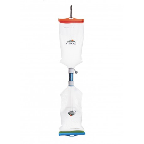 Vecto and Versa Flow Gravity Water Filtering System