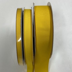 Canary Yellow Grosgrain (1 yd)