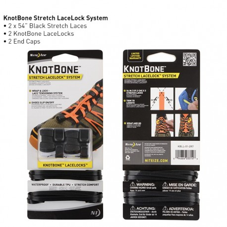 KnotBone Stretch Lace Lock System